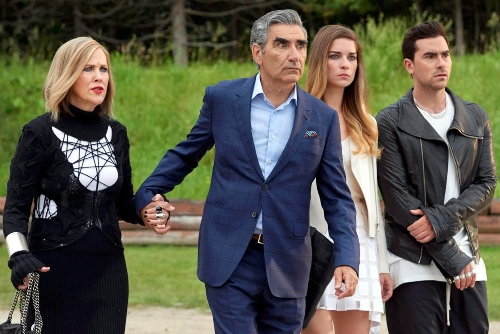 A shot from the Netflix series Schitt's Creek