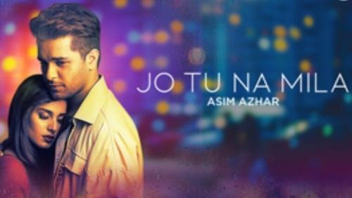 Asim Azhar's Jo Tu Na Mila cover