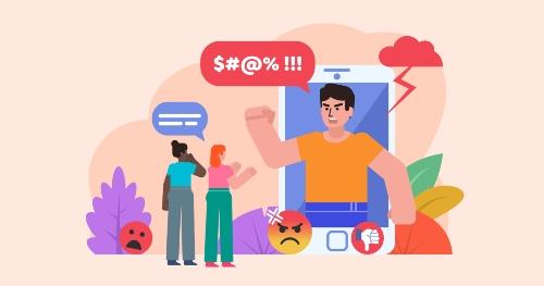 hate of online trolls