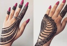Mehndi designs at home