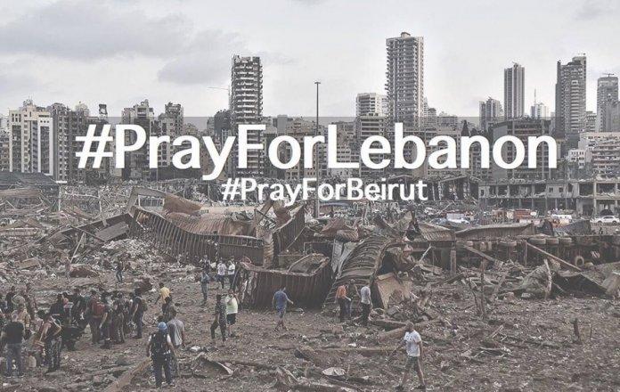 #PrayForLebanon