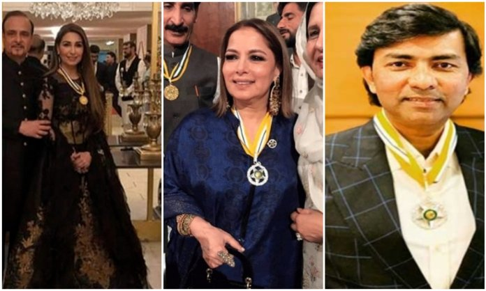 Pakistani celebrities who received civil awards