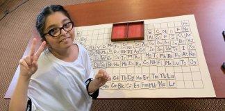 Natalia Najam sets a Guinness World record