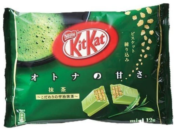 5 kitkat flavors