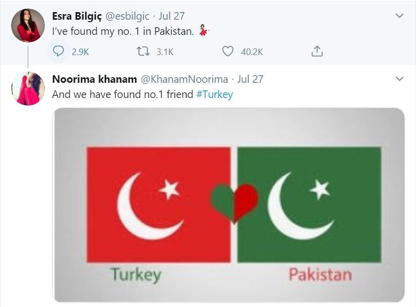 Esra Bilgic Has Found Her No. 1 In Pakistan