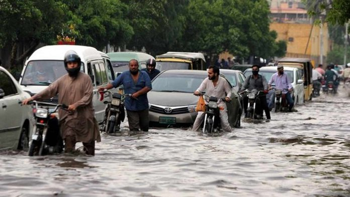 karachi rain lead