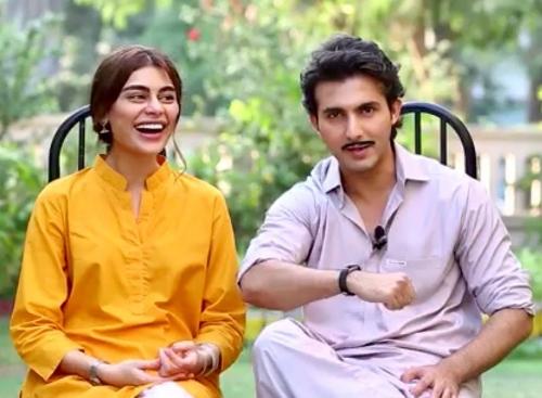 Sadaf Kanwal and Shahroz Sabzwari