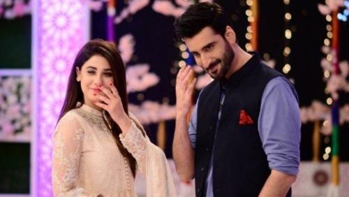 Hina Altaf and Agha Ali