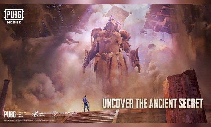 Under a mysterious ancient civilization theme, PUBG MOBILE unveils a new Ancient Secret Mode update, bringing players all-new in-game events