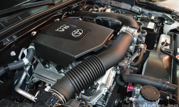Fortuner TRD engine