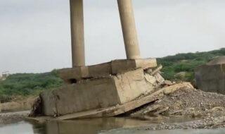 Pakistani Man Exposes Damaged Bridge That Connects Balochistan & Karachi