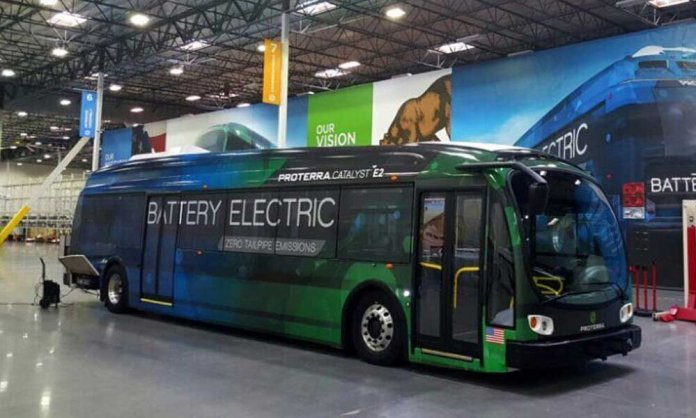 electric busses pakistan