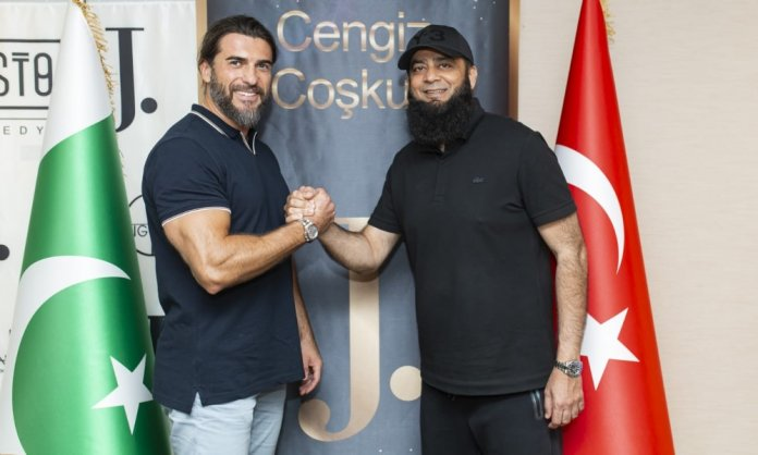 J. Signs Two Ertugrul Stars As Brand Ambassadors