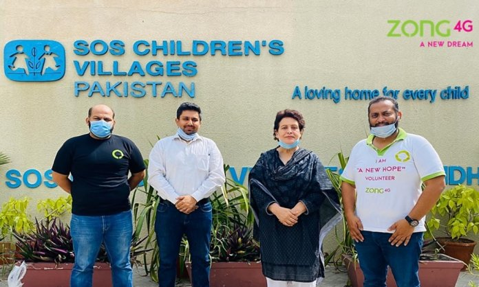 Zong Extends Support To SOS Children's Village