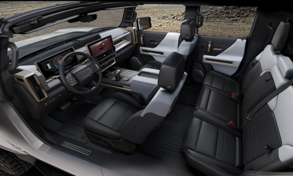 2020 Hummer EV Cabin