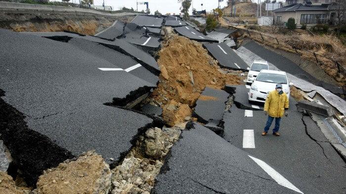 Devastating earthquakes
