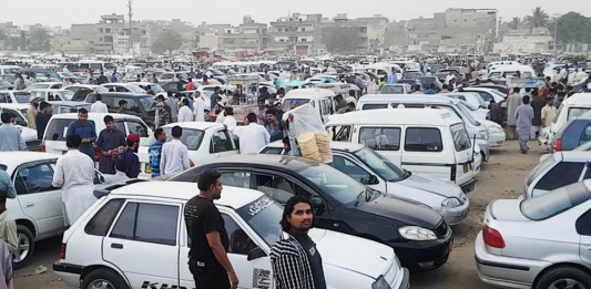 Karachi car bazaar