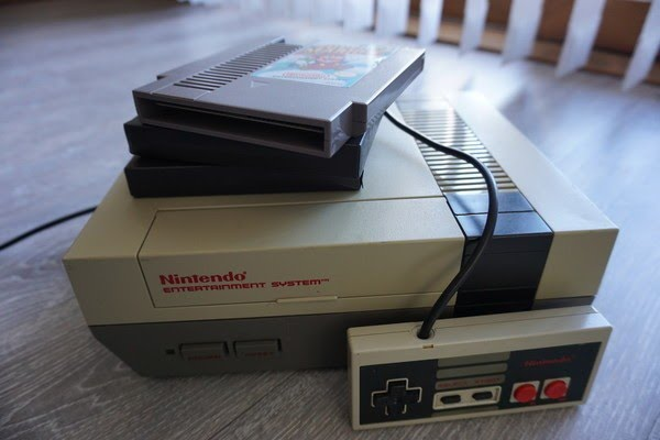 Nintendo gaming controllers old