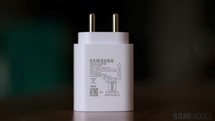 Samsung's S21 mobile charger