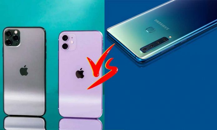 Samsung iPhone12