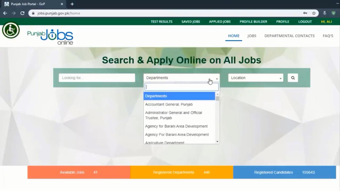 jobs punjab online