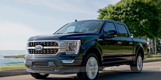 Ford F150 with new and improved seats