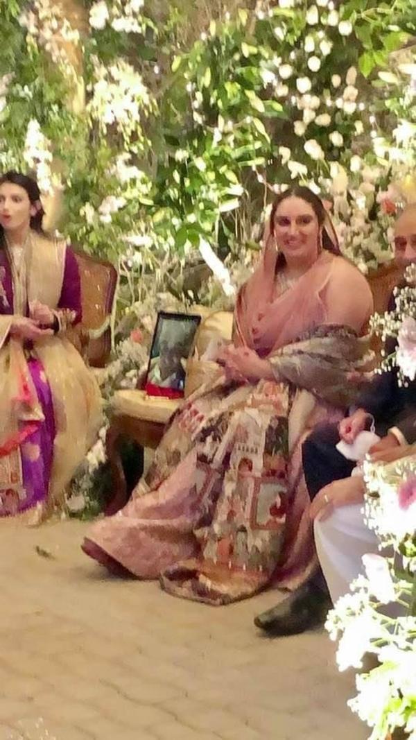 Pictures of Bakhtawar bhutto Zardari's Engagement In Bilawal House Karachi 5