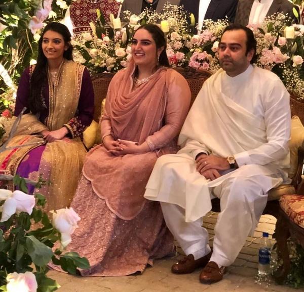 Pictures of Bakhtawar bhutto Zardari's Engagement In Bilawal House Karachi 7