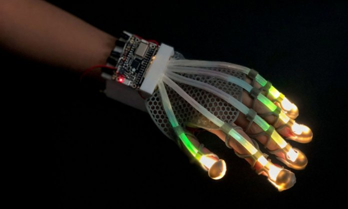 Stretchable Skin Sensors
