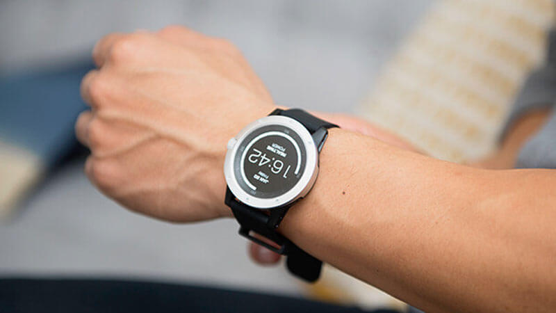 Smart watches powered by humans