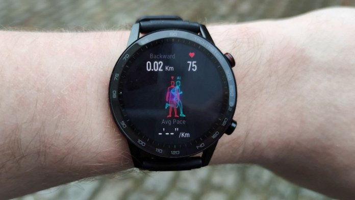 Smartwatches working from human power