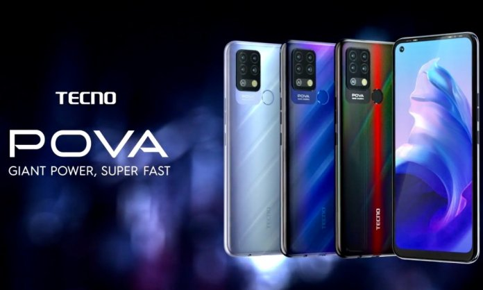 TECNO POVA gaming phone