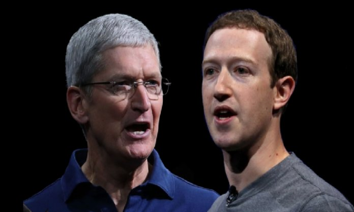 Apple and Facebook in a decade long fight