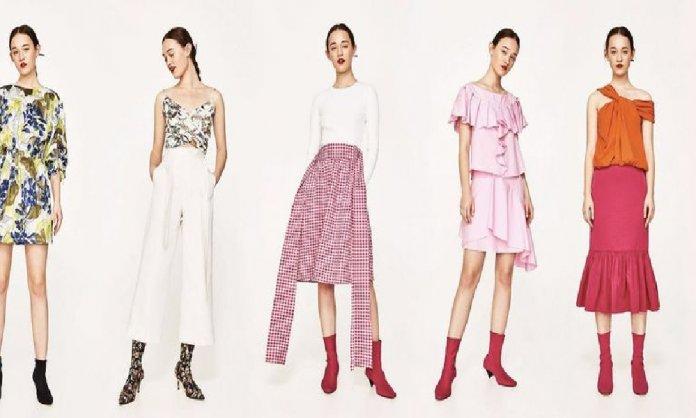 Zara with new line