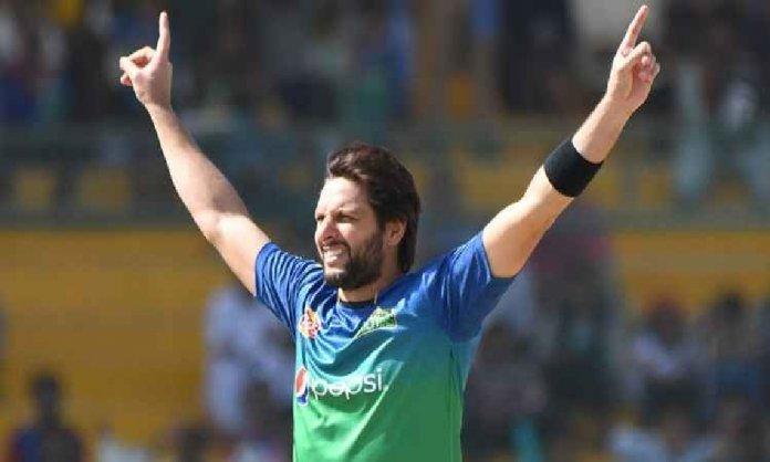 Shahid Afridi Enraged at Afghan Cricketer