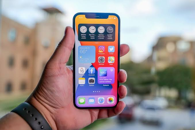 iPhone 12 with changes to need