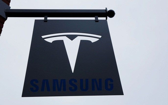 Tesla and Samsung partnership