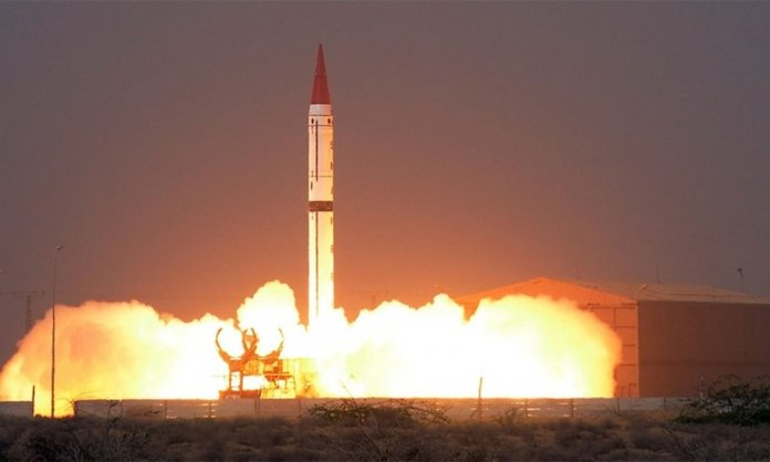 Missile Shaheen and its flight