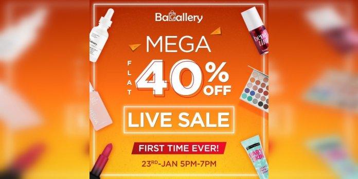 bagallery live sale