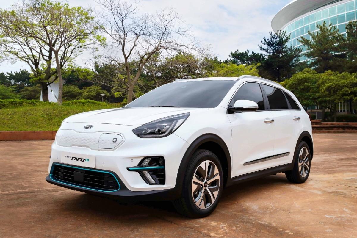 KIA with electric vehicle