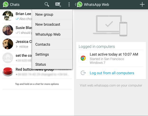 Web WhatsApp and it's shortcuts