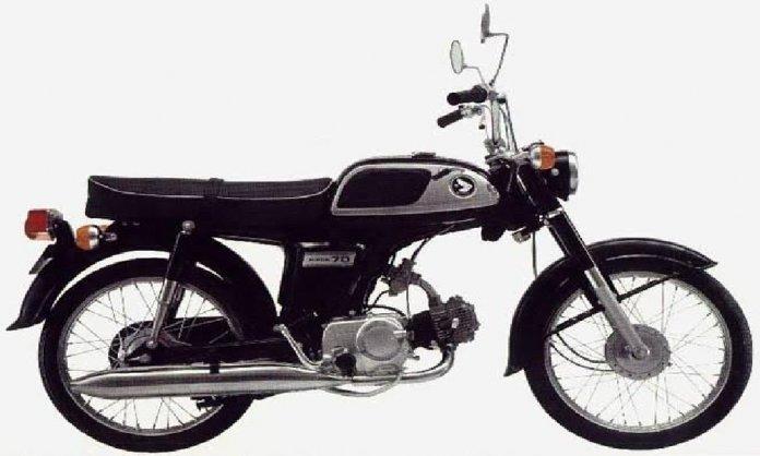 Honda CD 70 as an economical titan