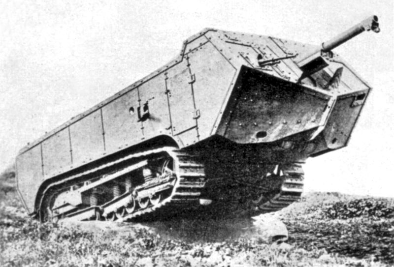 Tanks used in ww1 and Missiles