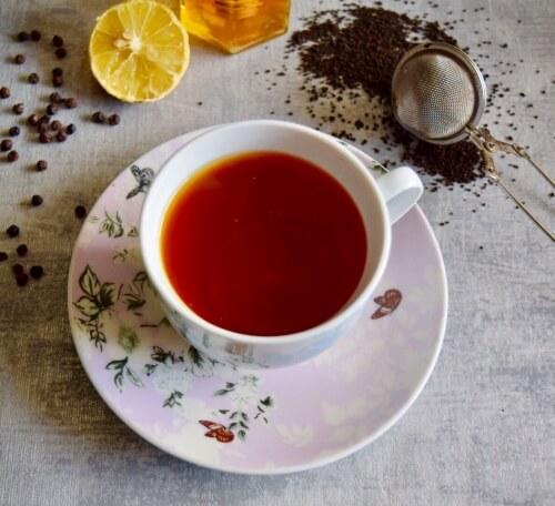 pepper stem tea