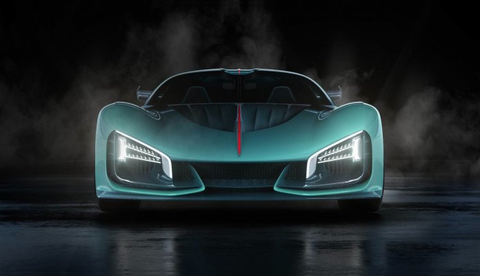 FAW and electric hypercar