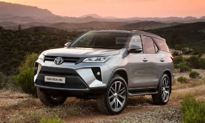 Toyota fortuner entering Pakistan with Facelift