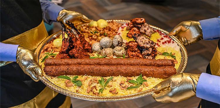 Biryani gold plated and expensive