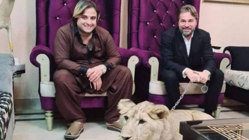 Youtuber and Ali Virk