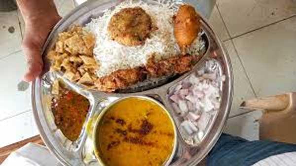 vegetarian thalis