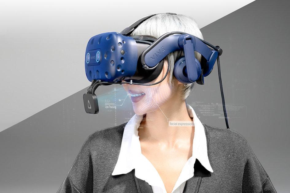 VR HTC Facial Tracker